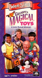 Grandpa's Magical Toys (new VHS)